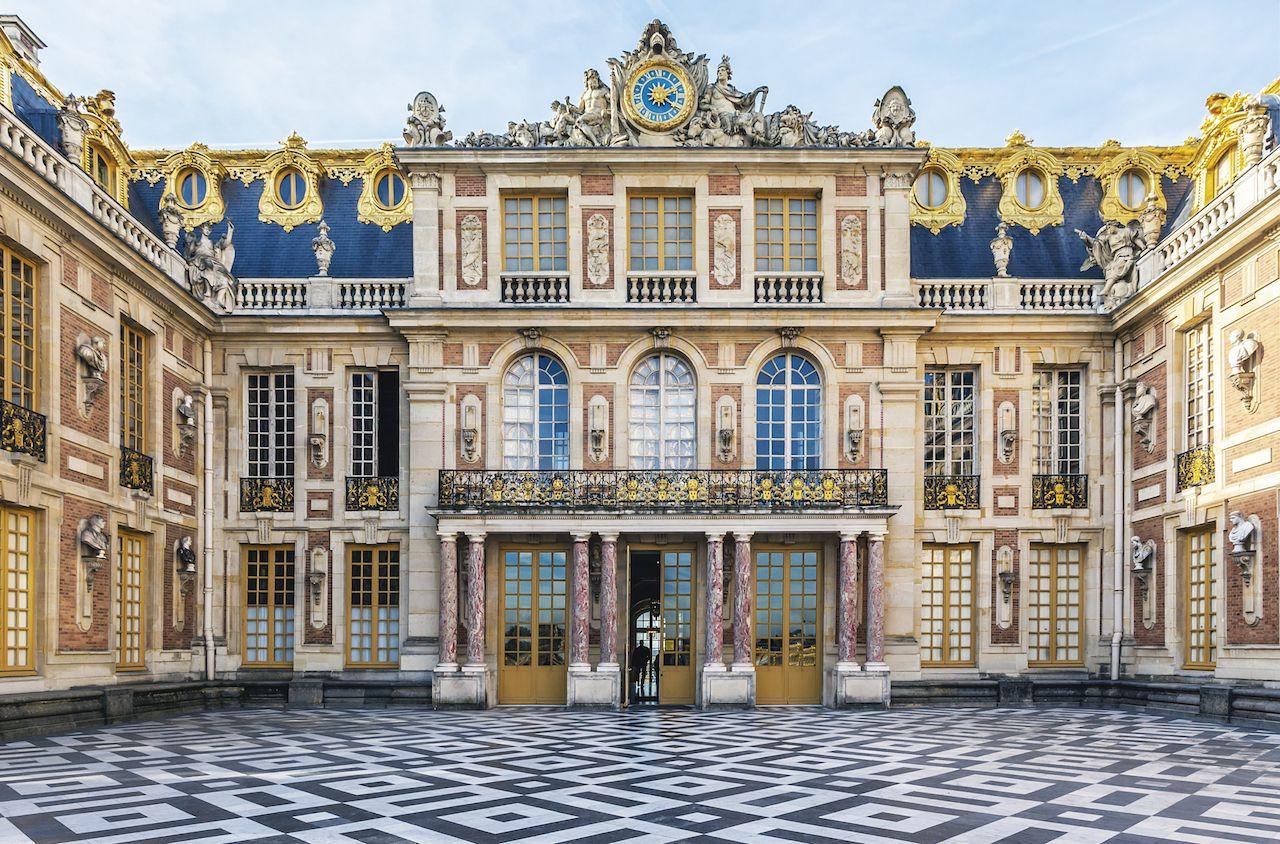Main facade at Versailles