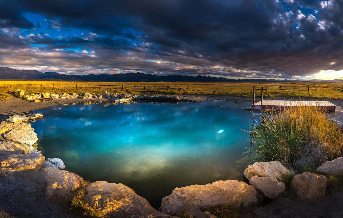 The best hot springs in California, Utah, Arizona, British