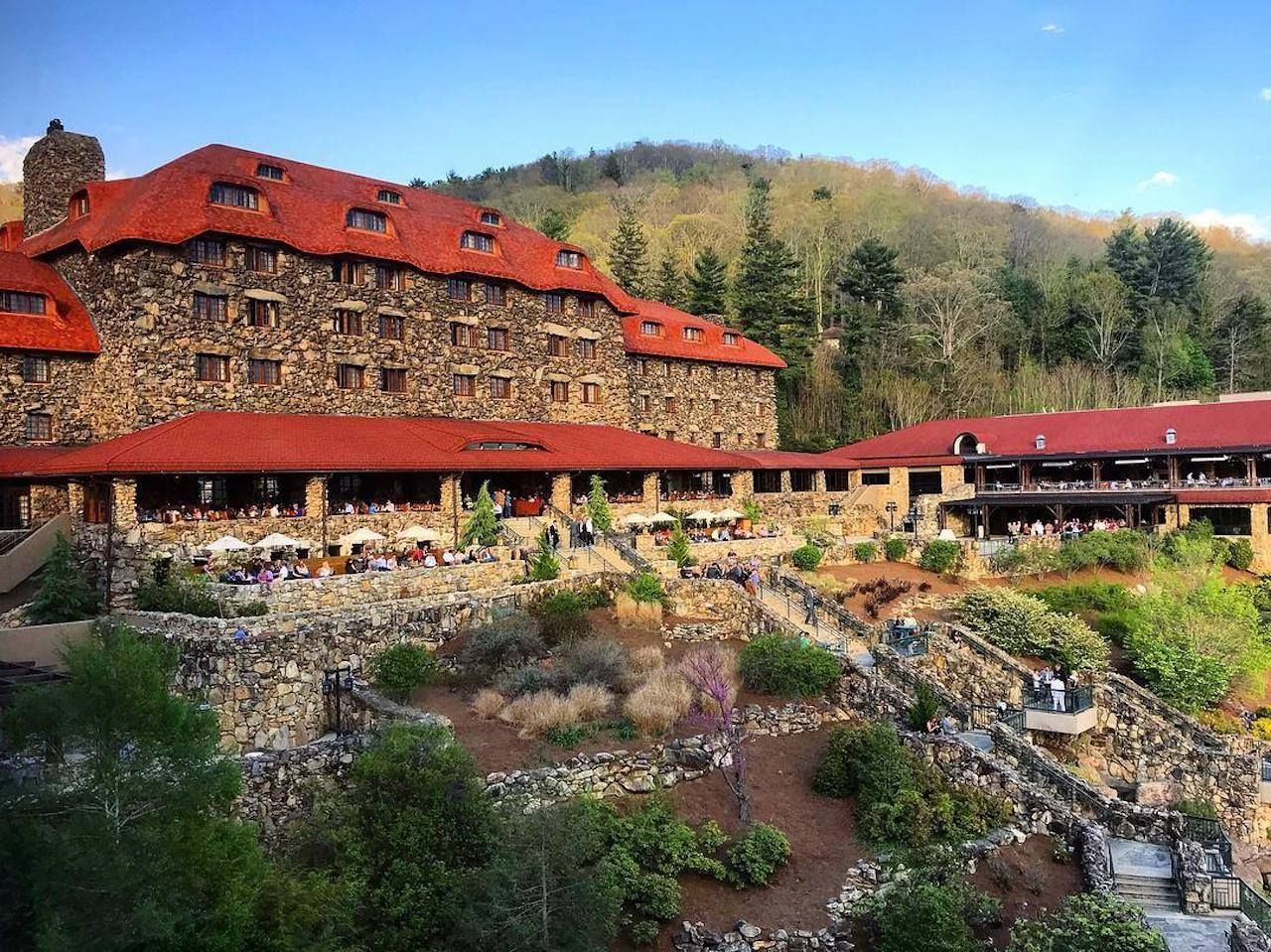 Omni Grove Park Inn, Asheville, North Carolina