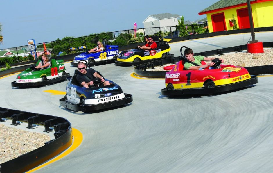Go-Carting at Paradise Fun Park