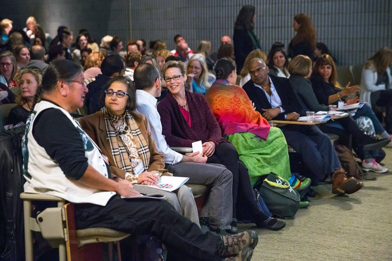 People at A Mindful Society Conference