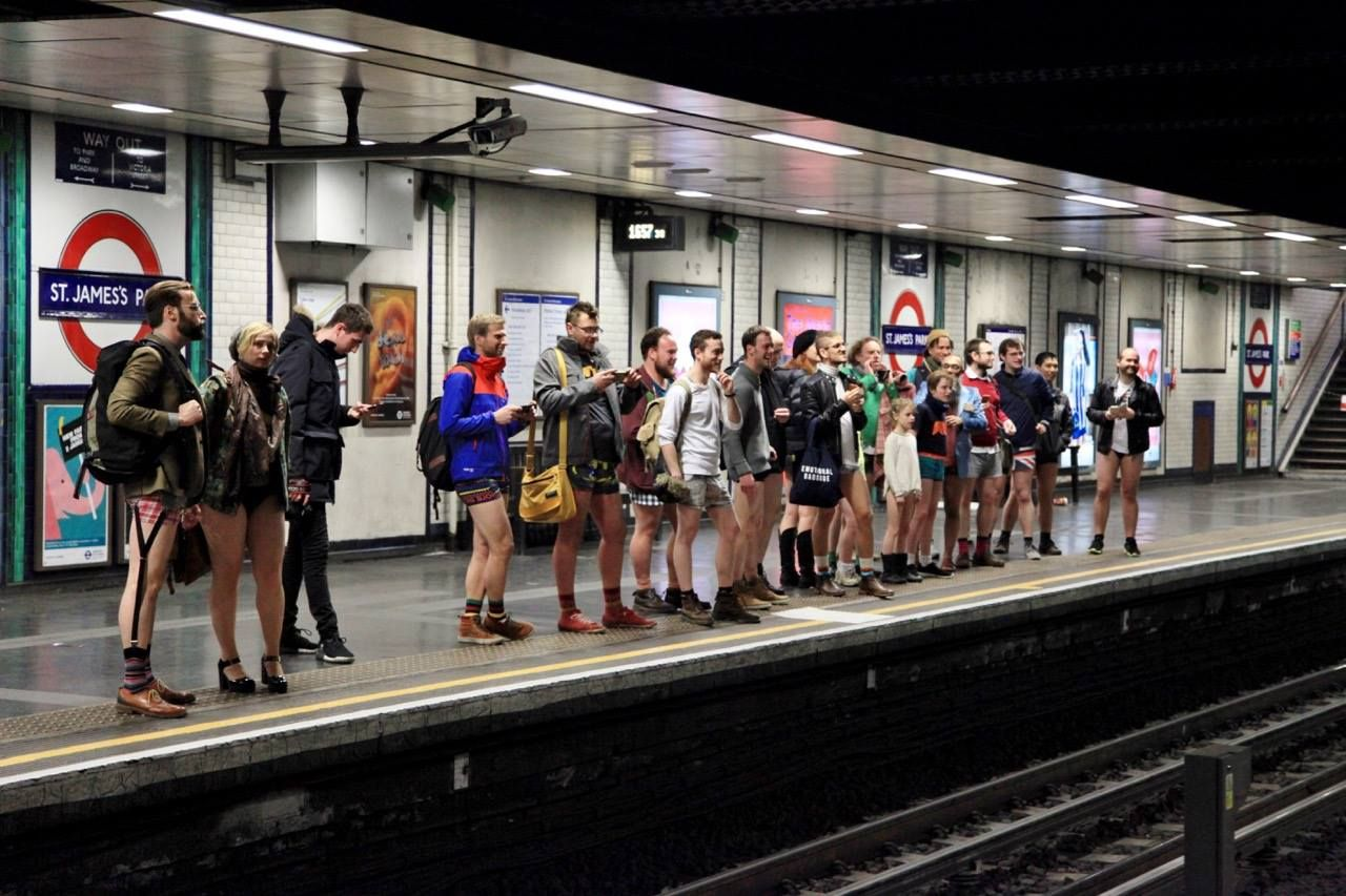 No Trousers Tube Ride is coming back