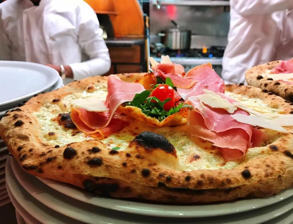 Pizza from La Fabrica in Paris, France
