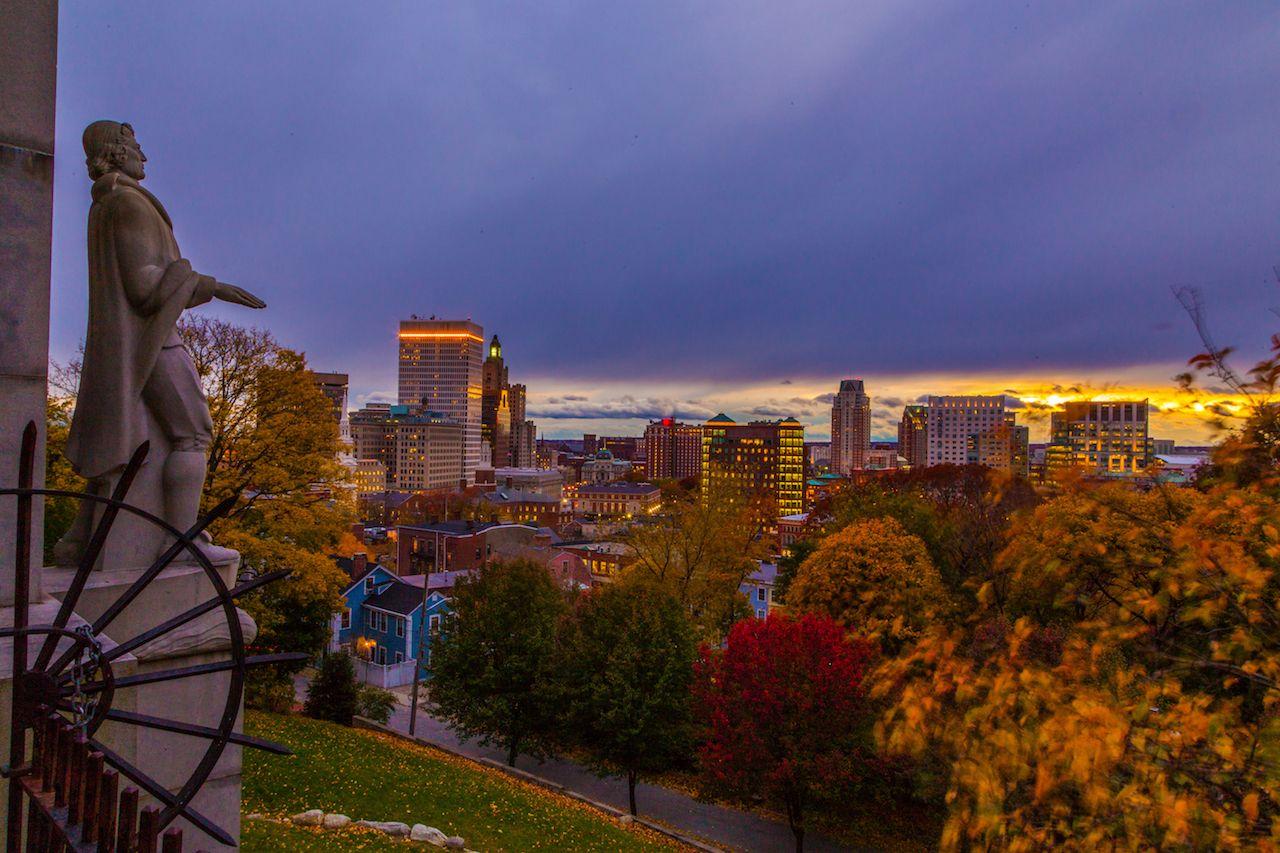 Providence, Rhode Island, Skyline