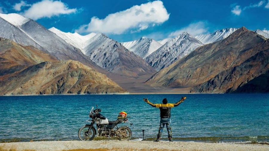 This motorcycle tour is the most epic way to see the Himalayas