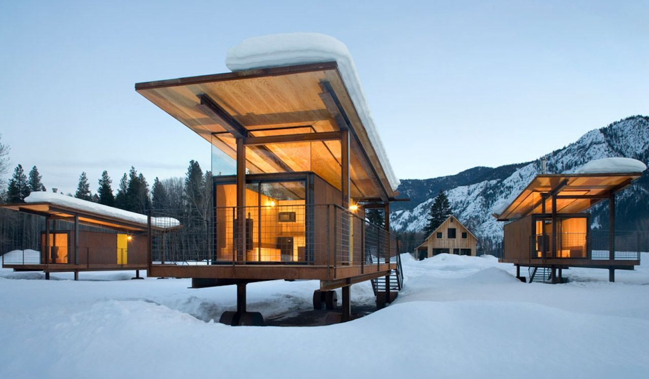 Tiny houses in the Pacific Northwest