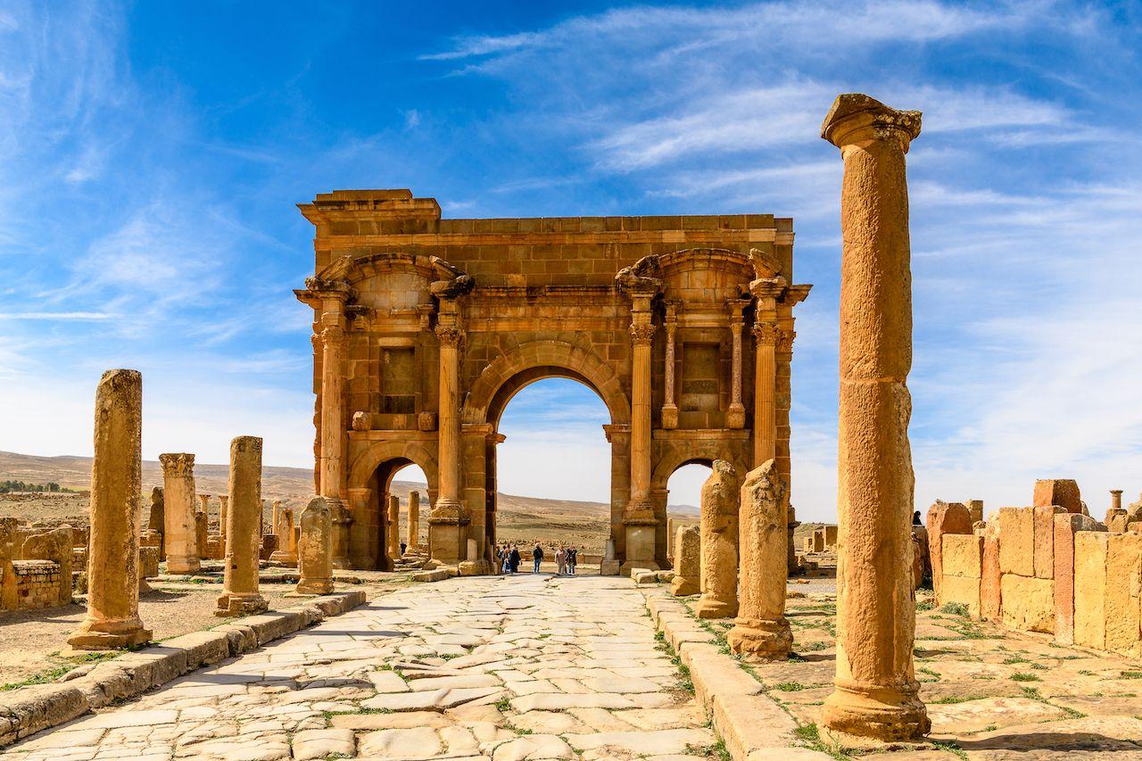 Ruins in Algeria