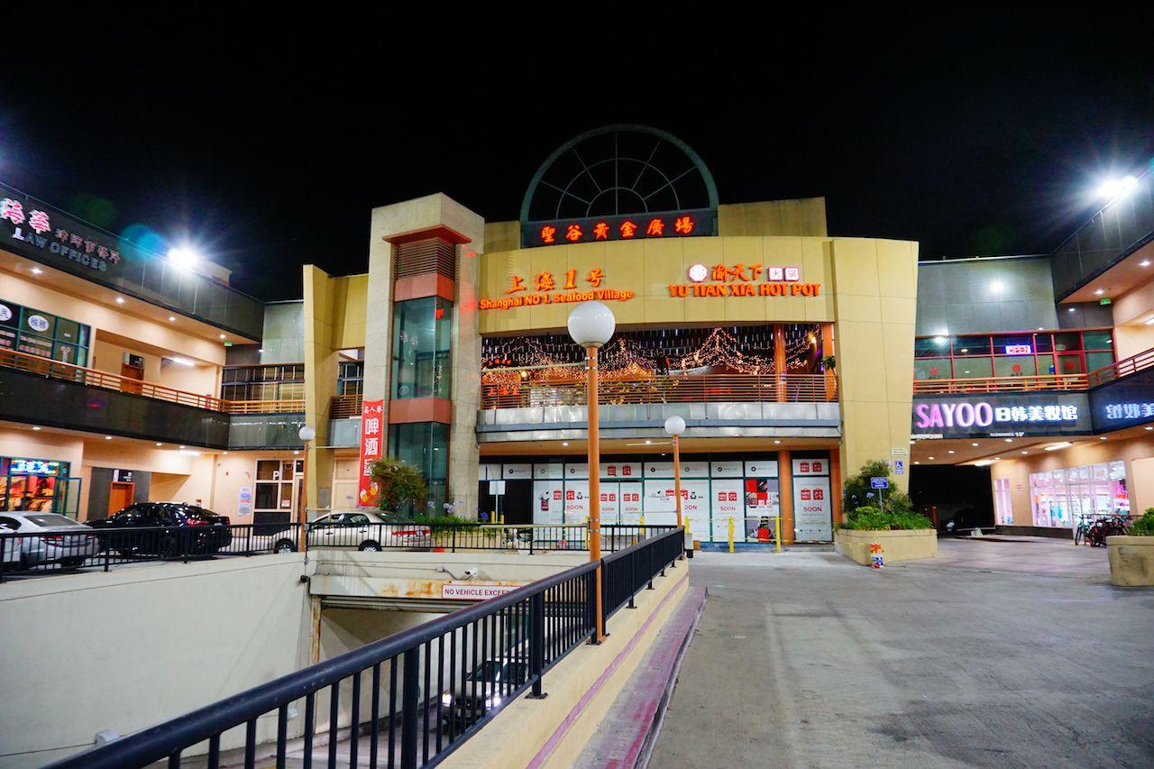San Gabriel Chinatown in LA