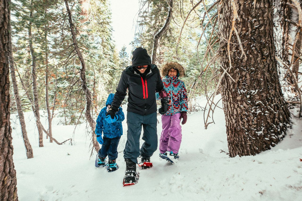 Mammoth Lakes, CA, off the mountain