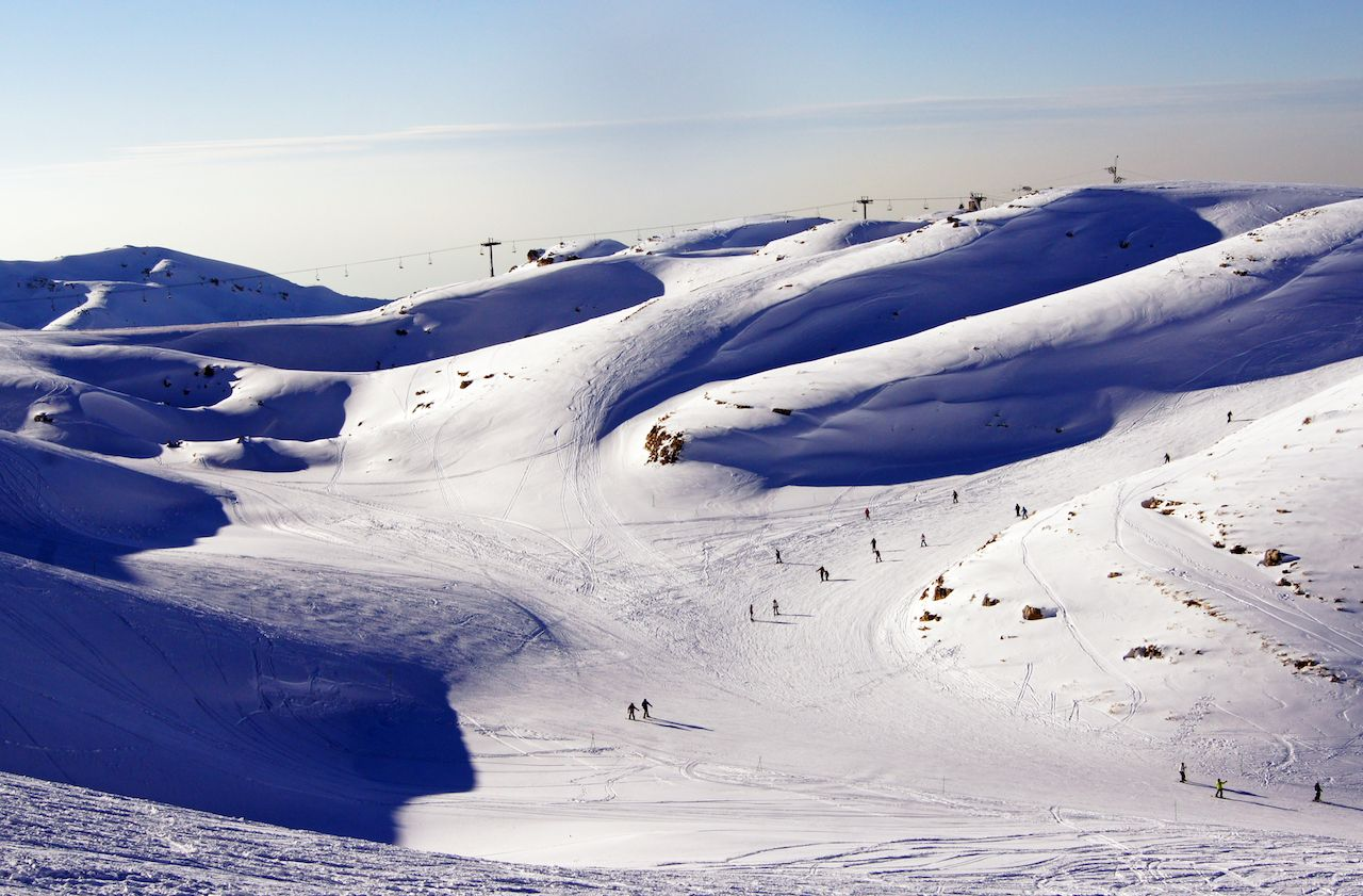 Why you need to go skiing in Lebanon