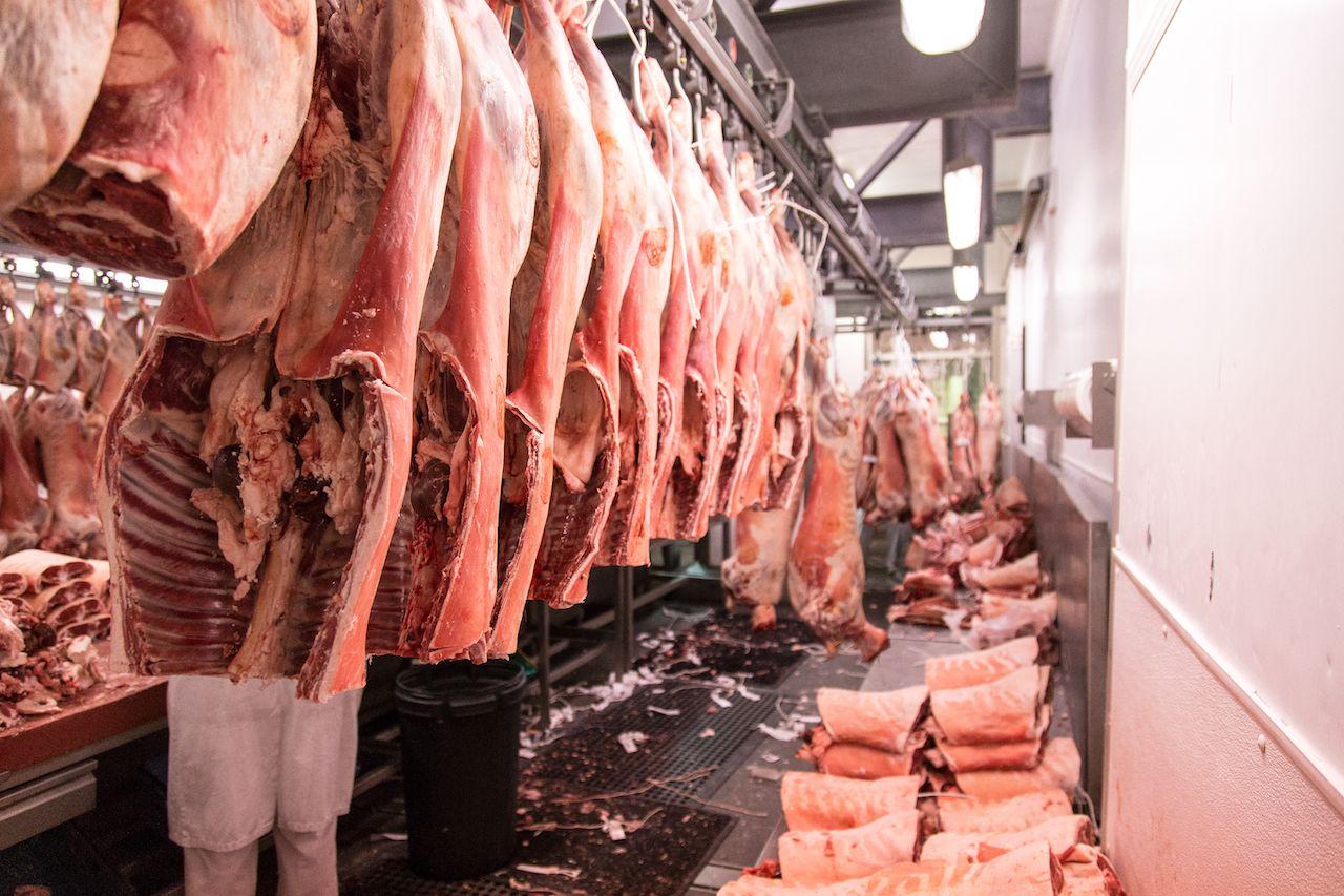 Smithfield Meat Market in London