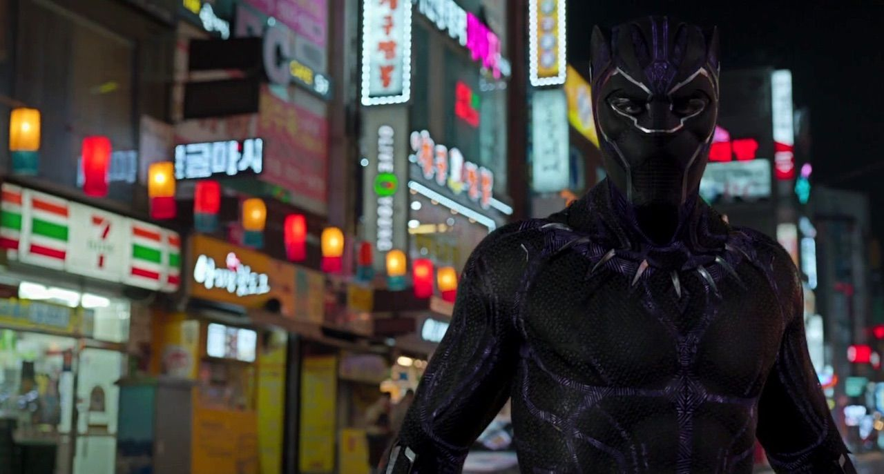 Still frame of Black Panther in Busan, South Korea