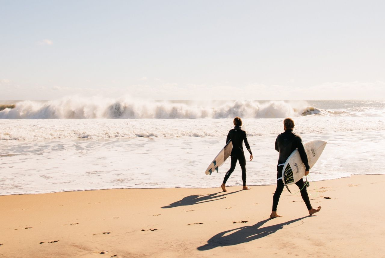 Surfing Outer Banks North Carolina
