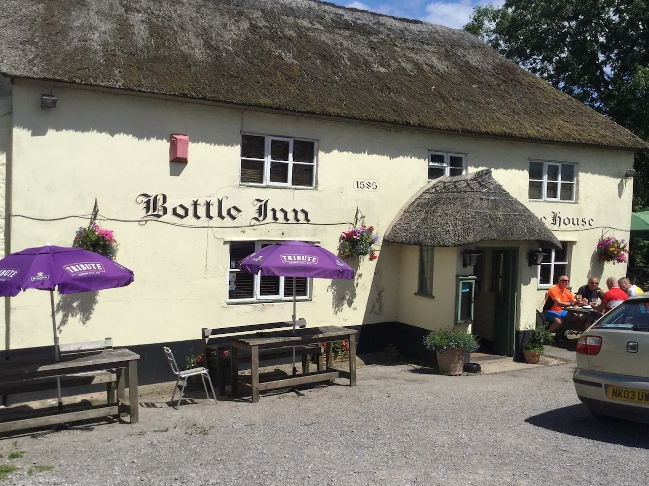 The Bottle Inn in England
