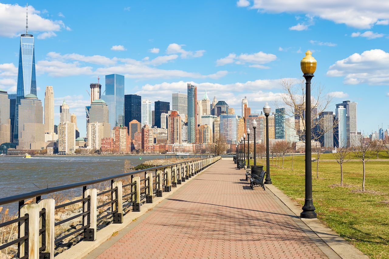 The City of New York as seen from Liberty State Park