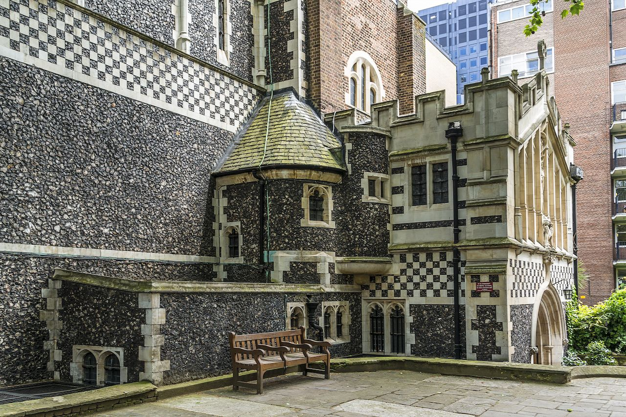 The Priory Church of St Bartholomew the Great in London