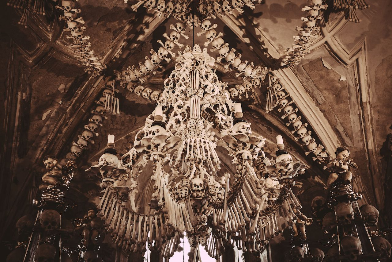 The Sedlec Ossuary in the Czech Republic