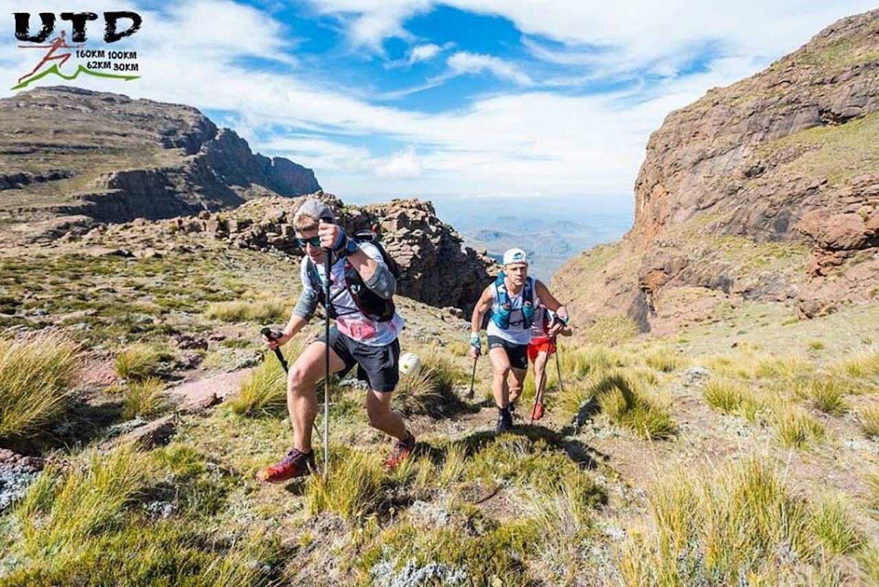 Ultra Trail Drakensberg trail runners