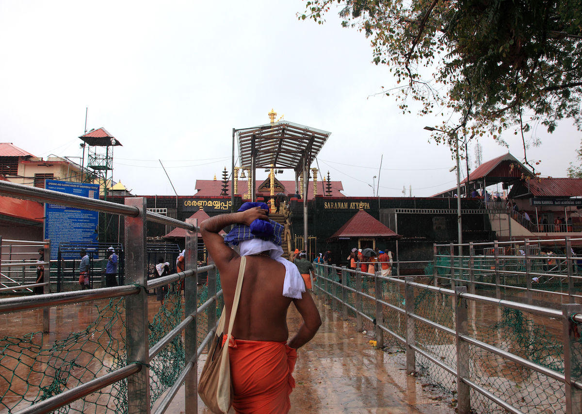 Women Enter Hindu Temple For First Time