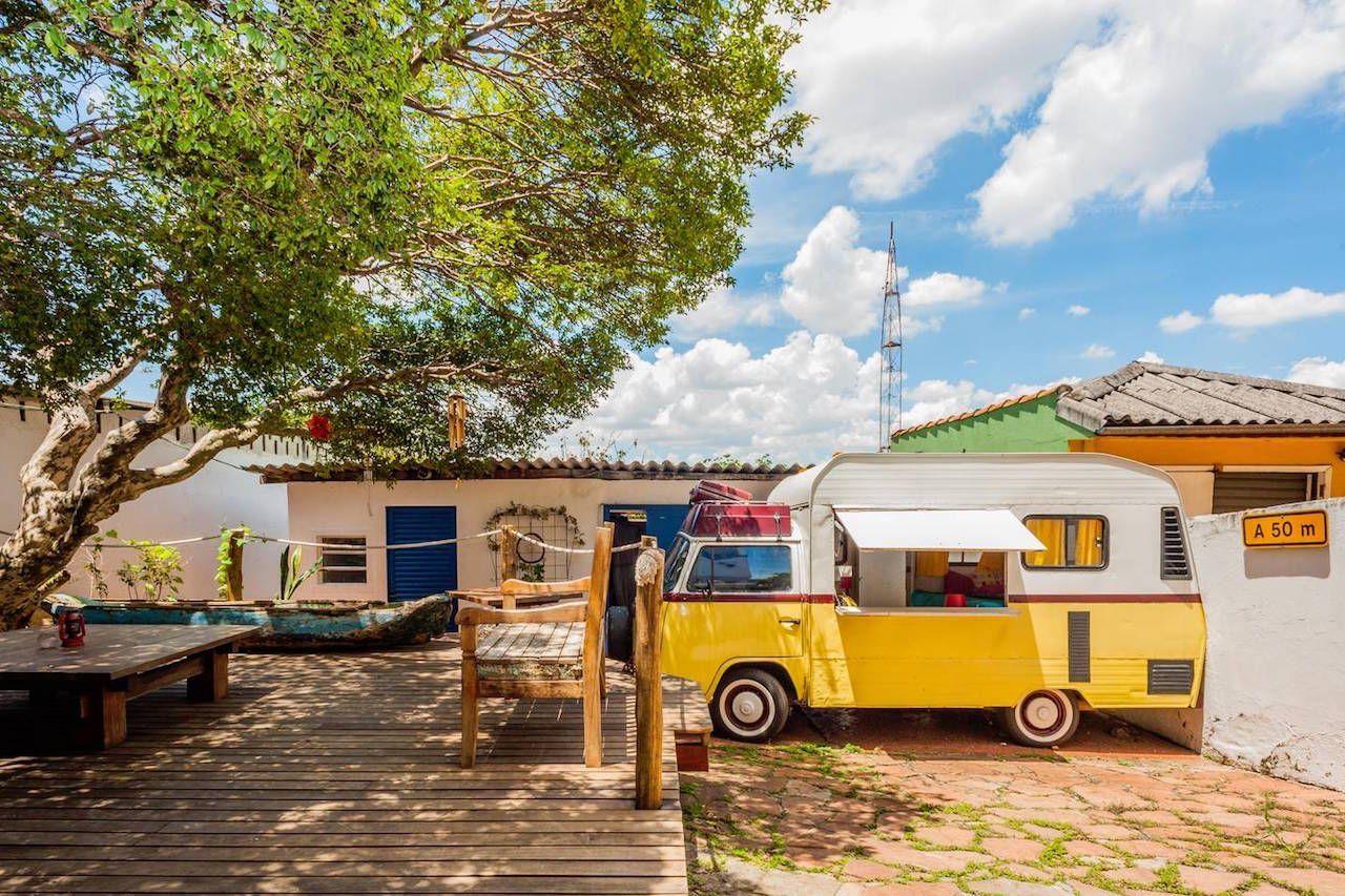 VW Vintage Camper van Airbnb in Sao Paulo