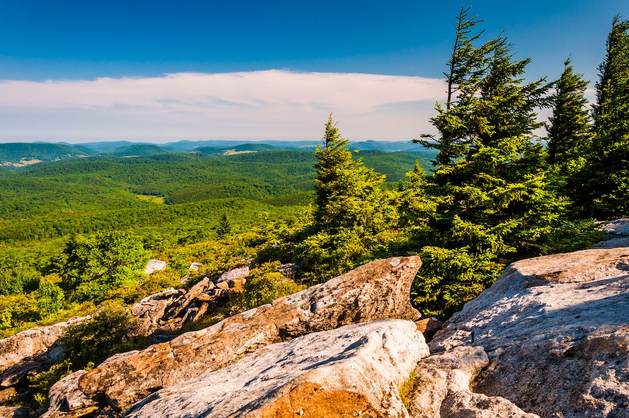 View from Spruce Knob, West Virginia