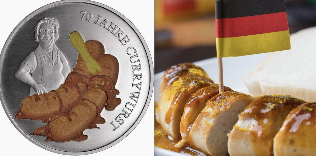 Germany releases currywurst coin