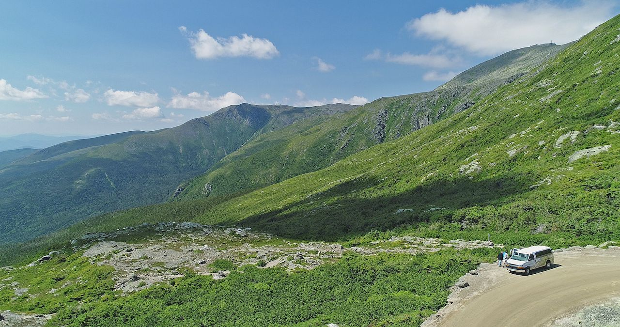 Mount washington auto road scenery