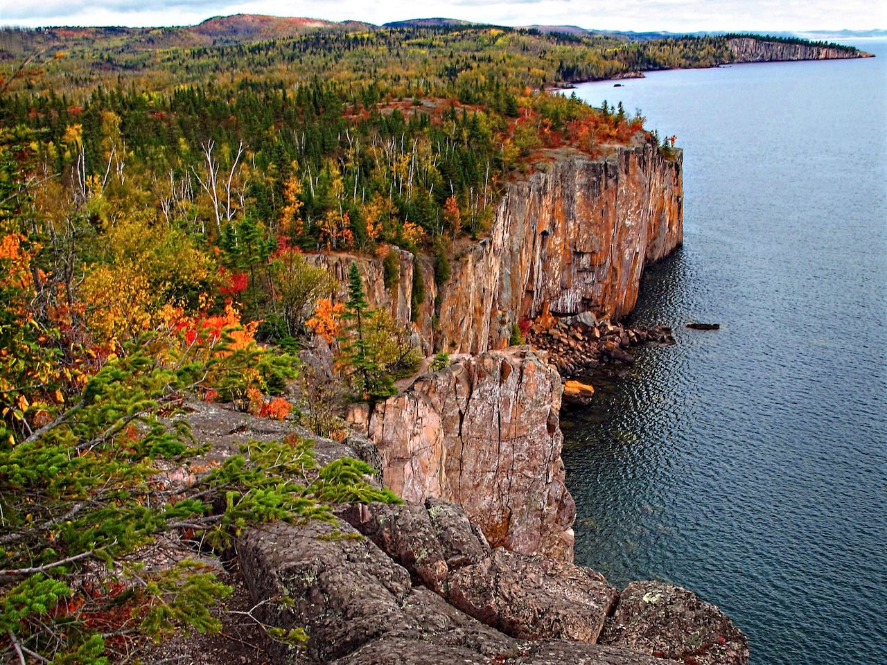 Palisade Head in Minnesota