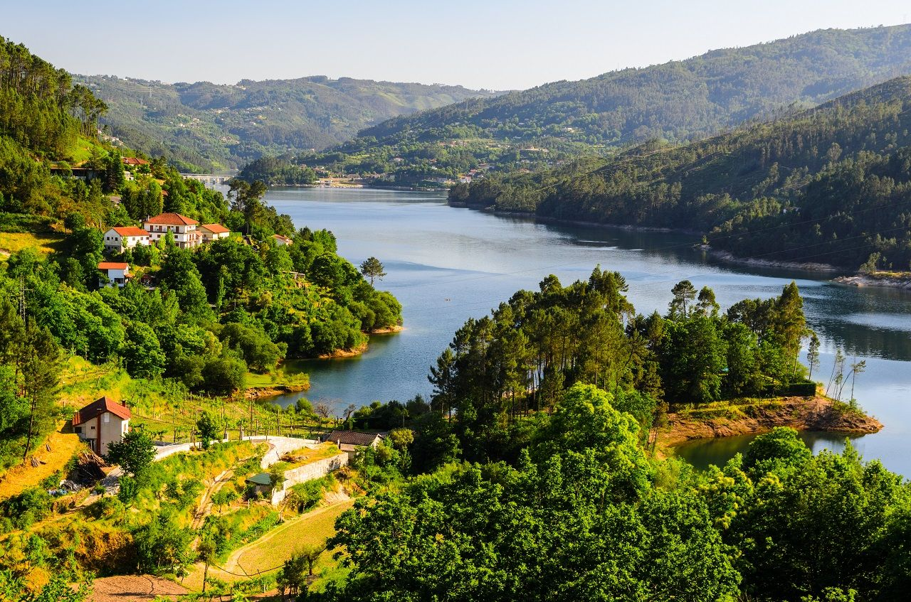 Peneda-Gerês is the only national park in Portugal. And it's incredible.