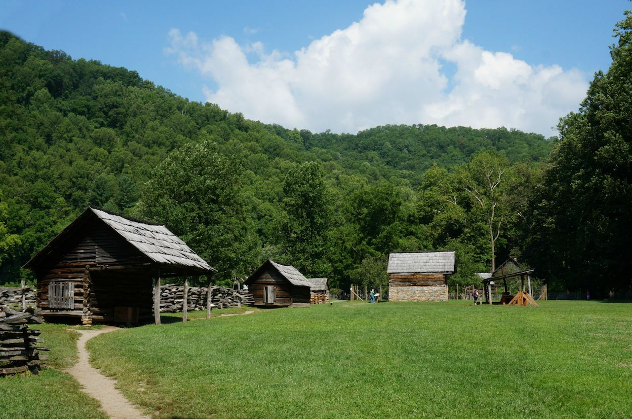 A Mountain Farm in the Great Smoky Mountains National Park