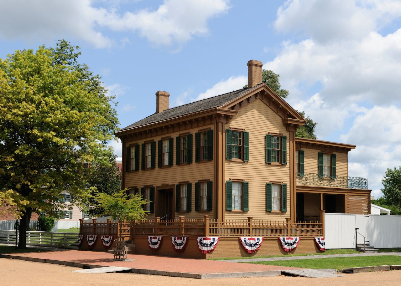 Abraham Lincoln Springfield House
