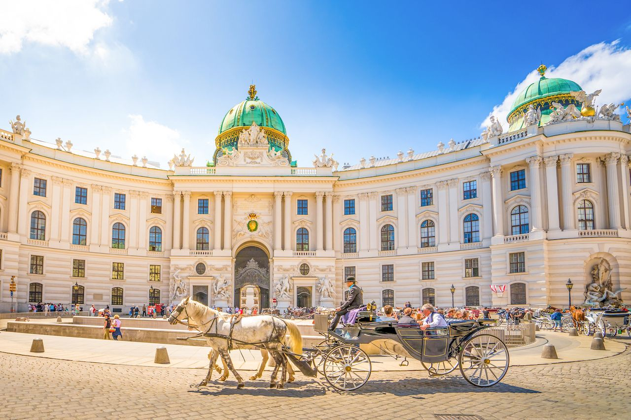 Alte Hofburg, Vienna, Austria