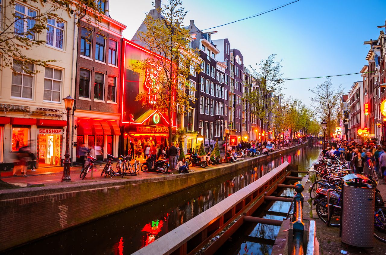 Cannabis is actually illegal in Amsterdam.. The post What you should and shouldn't do in Amsterdam's Red Light District appeared first on Matador Network..