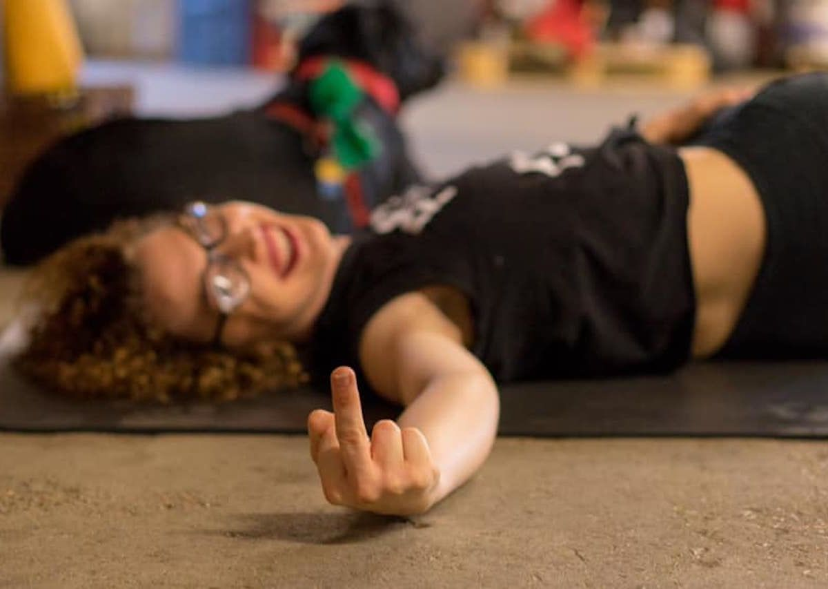 'Rage Yoga' lets you curse and drink beer to achieve inner peace