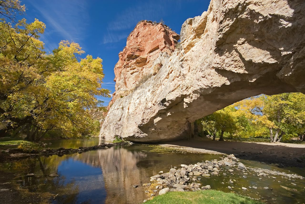 Ayres Natural Bridge State Park, Wyoming