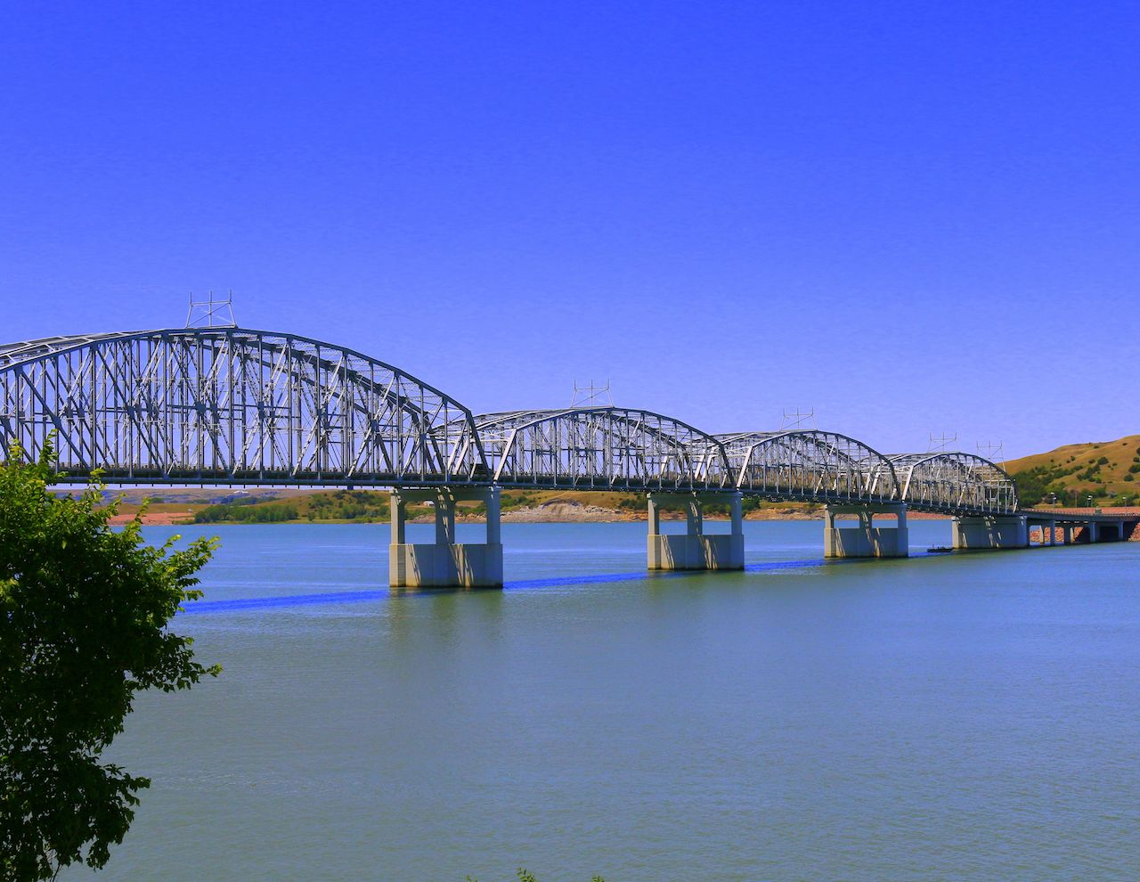 Bridge in Chamberlain, SD