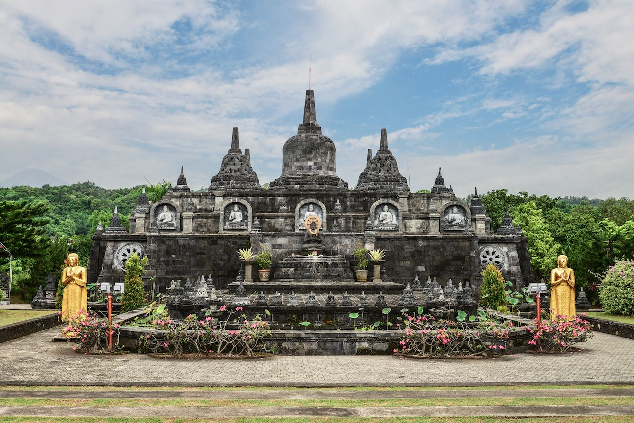 Budhist temple Brahma Vihara-Arama Banjar in Lovina, Indonesia, Bali