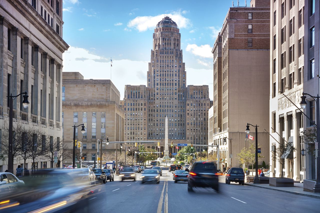 Buffalo is the second most populous city in New York, behind New York City