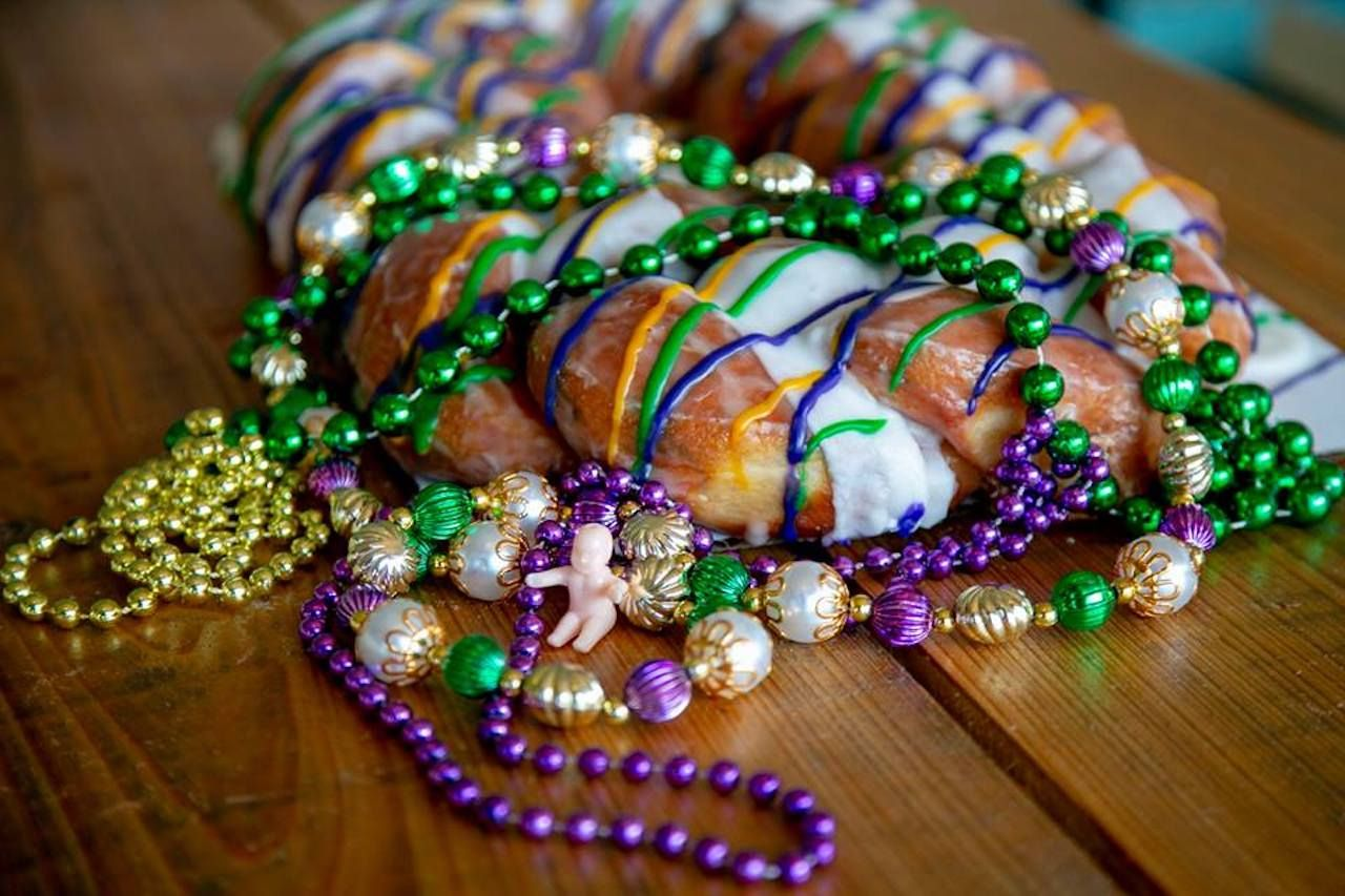 The best king cakes in Louisiana