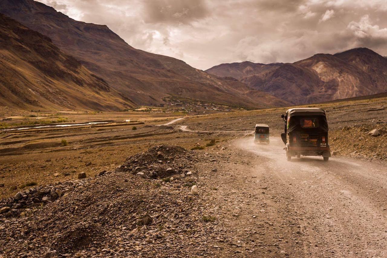 Cross the Himalayas in a rickshaw
