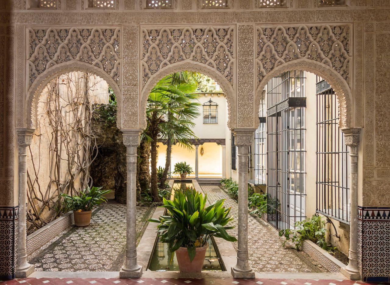 Carmen de los Martires, near to Alhambra, public garden