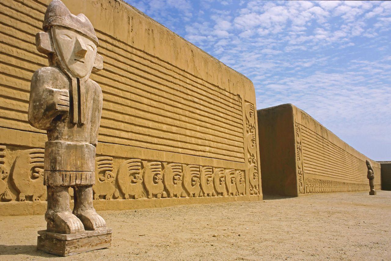 Chan Chan Ruins, Trujillo, Peru