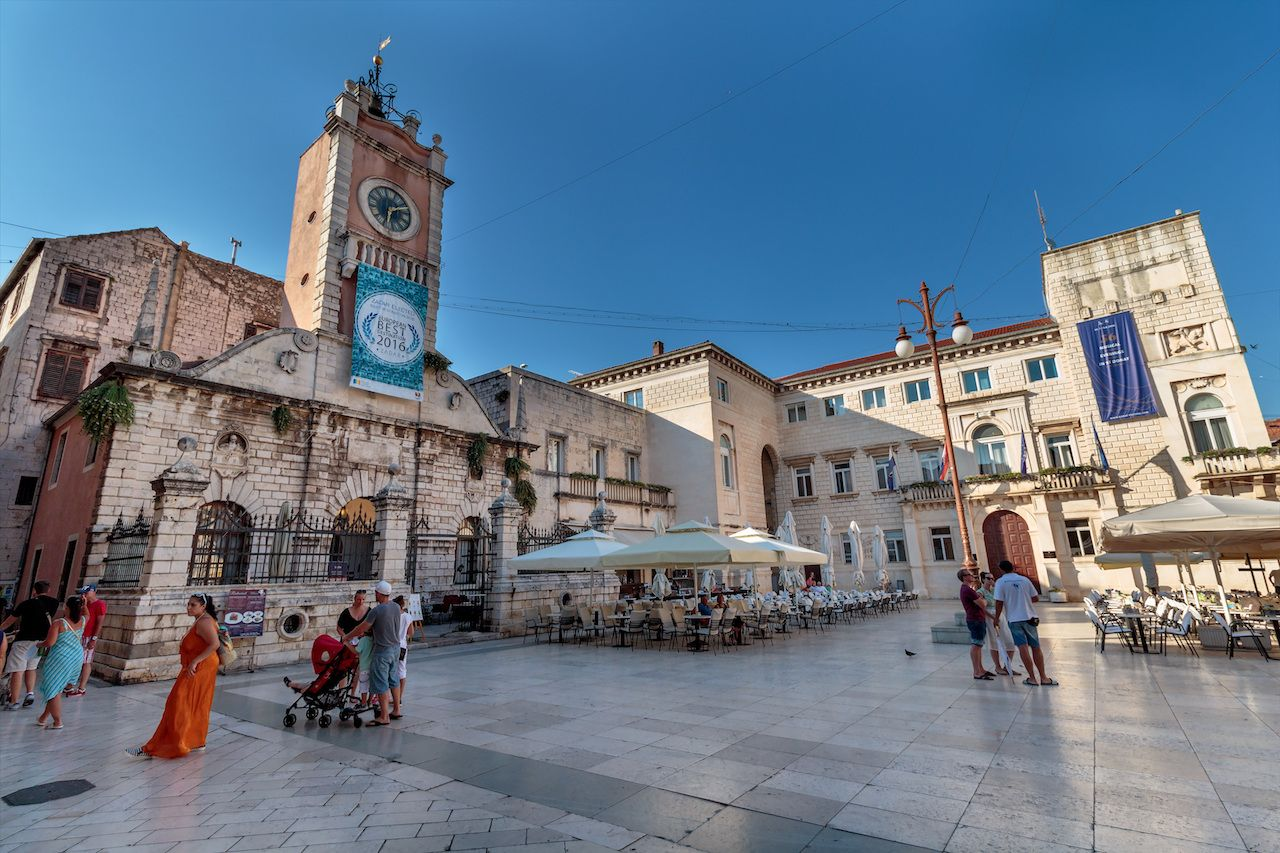 City hall in Zadar, Croatia