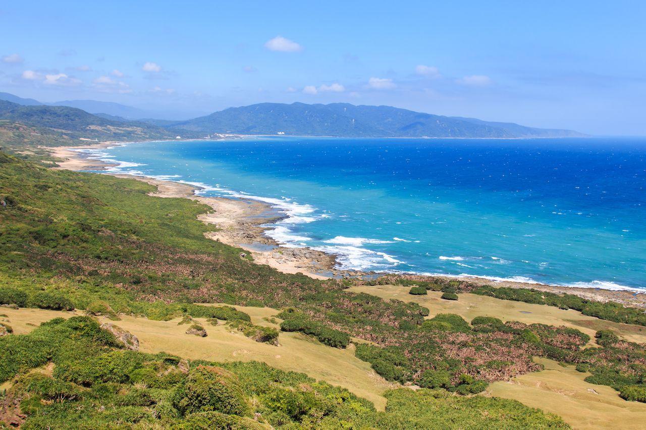 Coastline of Kenting National Park, South Taiwan