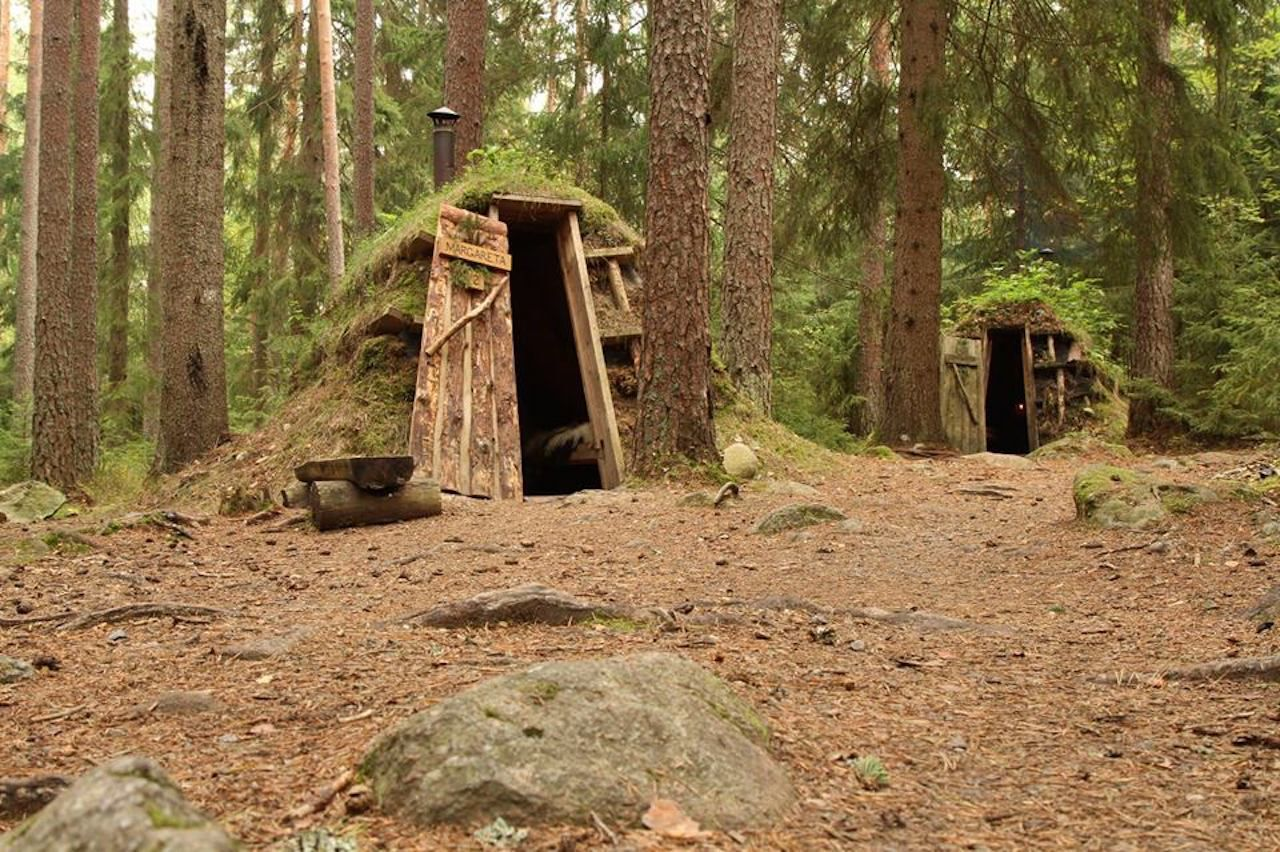 Eco lodge in Sweden