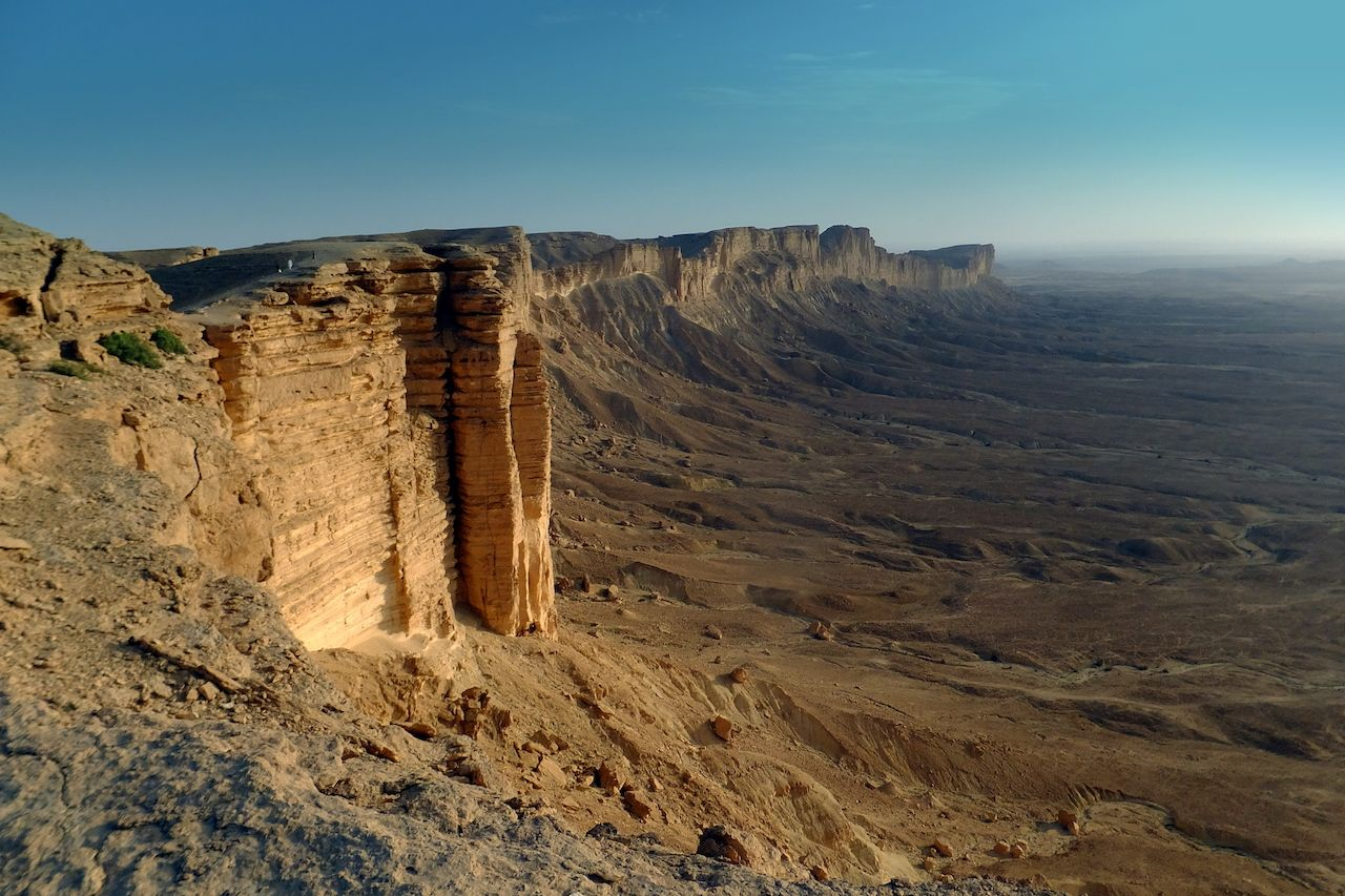 Edge of the World, Kingdom of Saudi Arabia