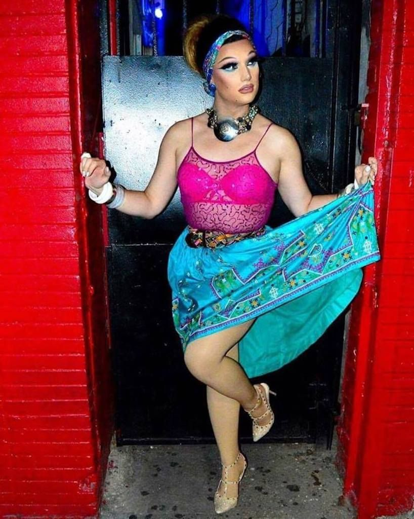 Hardware Bar NYC drag queen