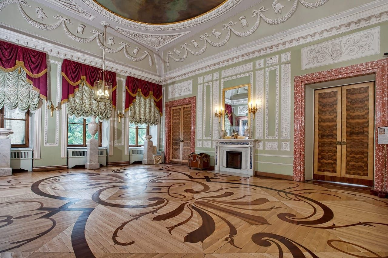Inside of Gatchina, Russia