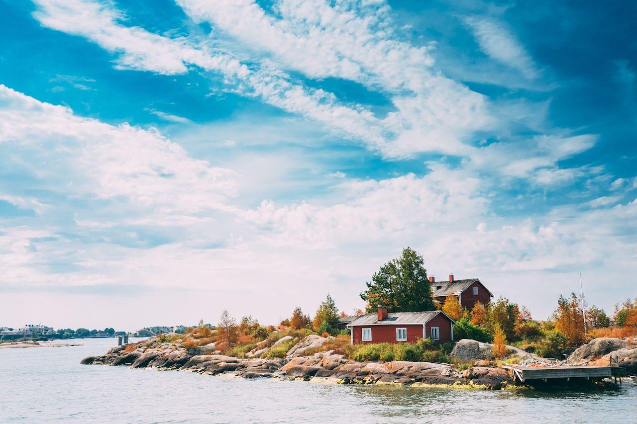 Island in Helsinki, Finland