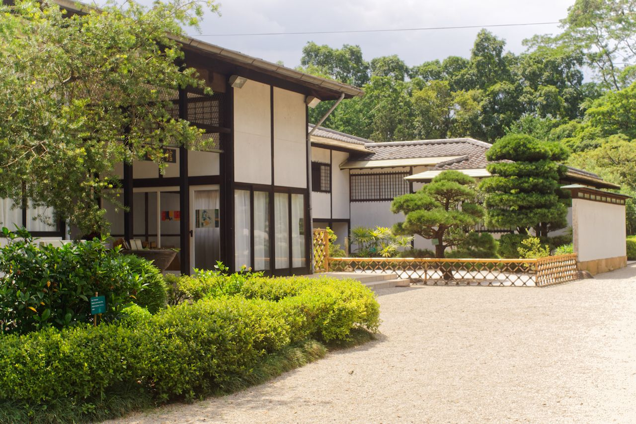 Japanese Pavilion in Sao Paulo